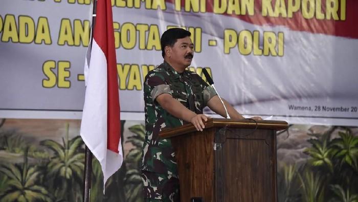 Panglima TNI Marsekal Hadi Tjahjanto (Dok. Aspri Panglima TN)