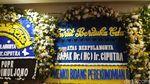 Jajaran Karangan Bunga dari Pejabat hingga Pengusaha untuk Ciputra