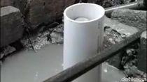 Gas dari Pengeboran Sumur di Lamongan Berbau Seperti Amonia
