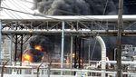Dahsyatnya Ledakan Pabrik Kimia di Texas