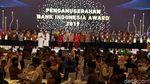 Momen Jokowi Hadiri Pertemuan Tahunan Bank Indonesia 2019