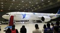 Ada Proyek Mahaka di Peluncuran Pesawat Baru Garuda, Ini Kata BUMN
