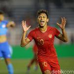 Samai Bepe, Osvaldo Haay Tatap Catatan Gol Kurniawan di SEA Games