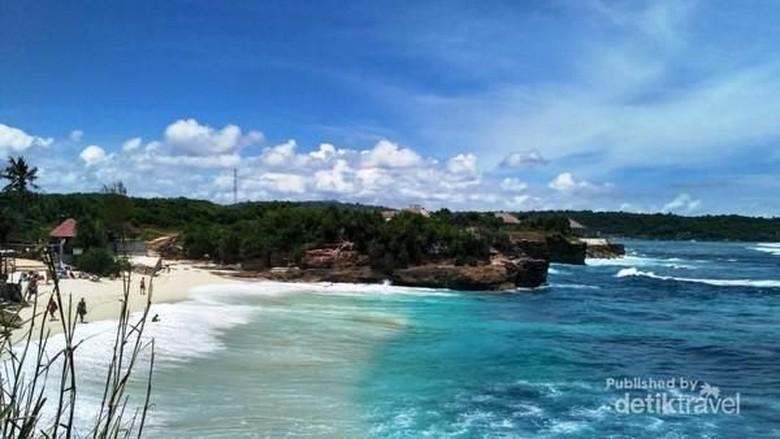 Dream Beach Nusa Lembongan (Diah Sumariani/dtravelers)