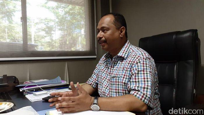 Ketua Harian KONI Jatim, M. Nabil (Hilda Meilisa Rinanda/detikSport)
