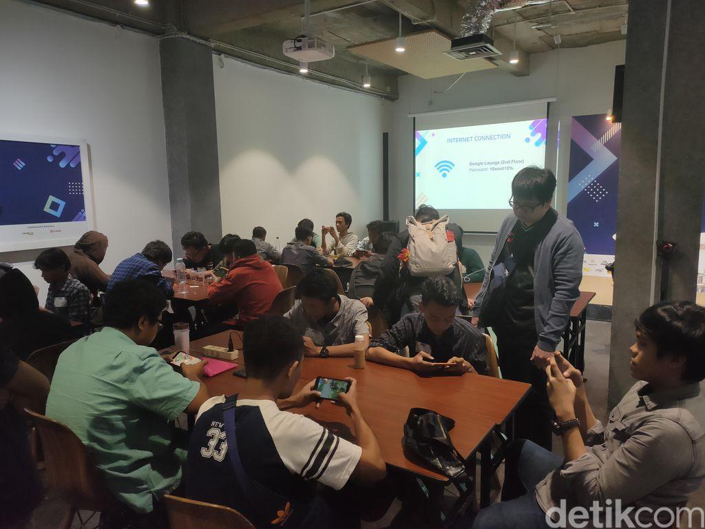 EXP Esports Academy 2019 berlangsung di Menara Digitaraya, Jakarta pada 27-28 November 2019 dan diikuti 75 gamer amatir. (Foto: detikINET/Virgina Maulita Putri)
