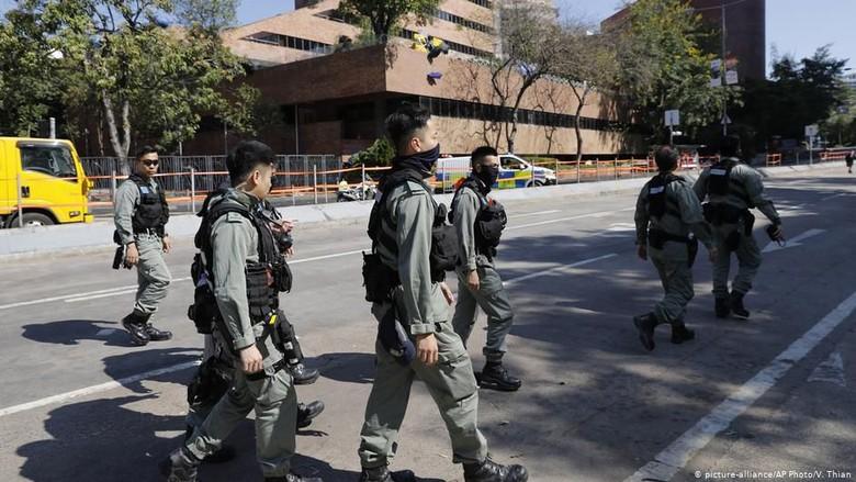 Polisi Akhiri Pengepungan di Universitas Politeknik Hong Kong