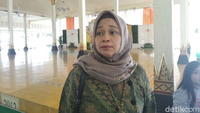 Direktur Utama PT Anindya Mitra Internasional (AMI), Dyah Puspitasari (Usman Hadi/detikcom)