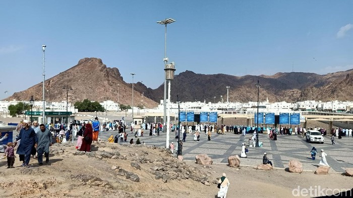 Jabal Uhud di Madinah