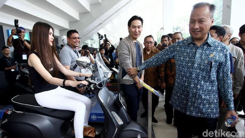 Menperin Agus Gumiwang Buka IIMS Motobike Expo 2019 Foto: Rifkianto Nugroho