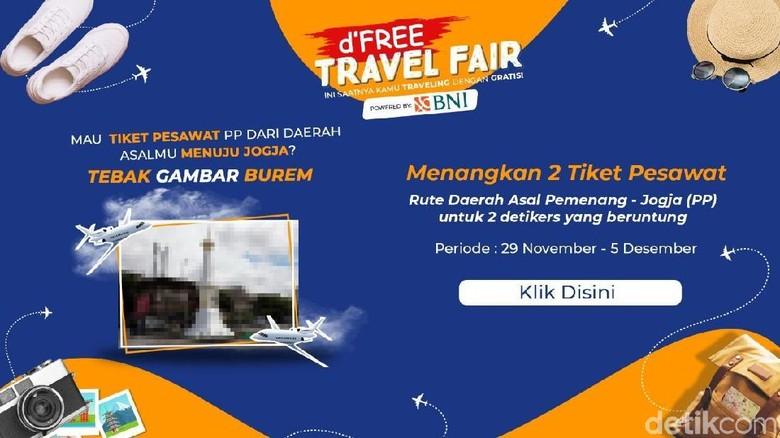 Tebakan dFree Travel Fair hari pertama (detikcom)