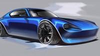 Karena desain Iwai.tatsuya yang satu ini bisa menjadi pertimbangan Nissan untuk bisa menjadi generasi terbaru Fairlady. Foto: Pool (Instagram/Autoevolution)
