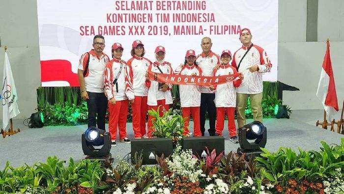 Skateboard berangkat ke Filipina dengan target dua emas. ( Foto: Istimewa)