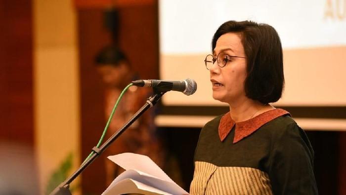 Menteri Keuangan Sri Mulyani Indrawati melantik pejabat eselon II