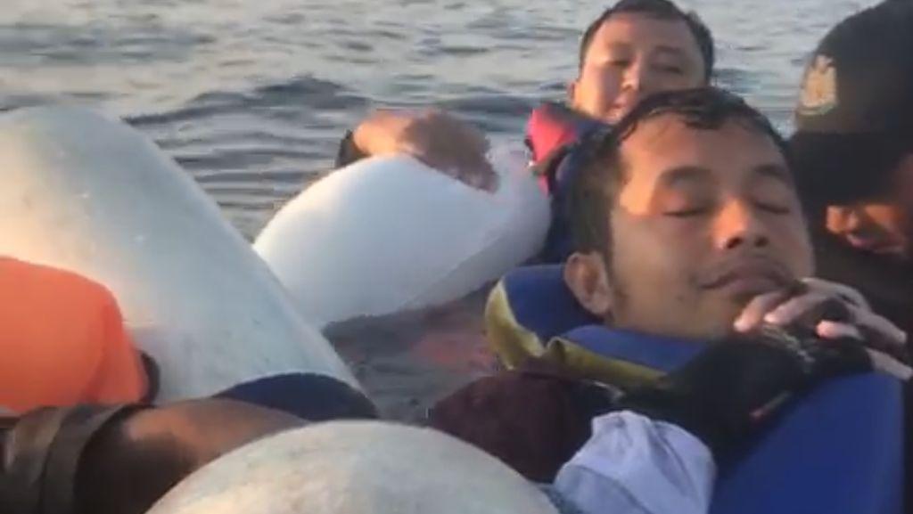 Kapal Nelayan Asal Luwuk Terbakar Lalu Tenggelam, 1 Orang Luka Digigit Hiu
