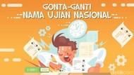 Gonta-ganti Nama Ujian Nasional