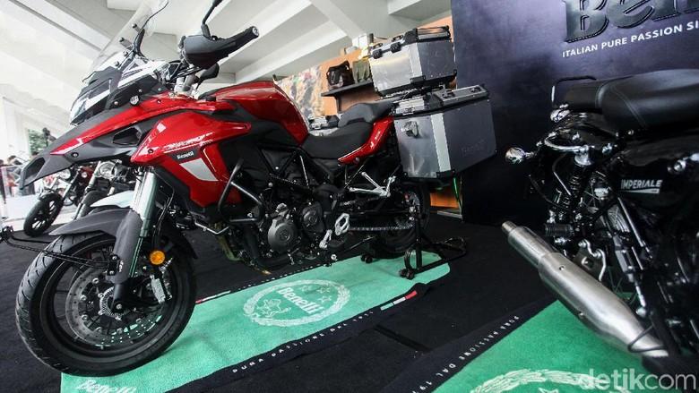 Moge Benelli yang baru meluncur di IIMS Motobike Expo 2019 Foto: Rifkianto Nugroho