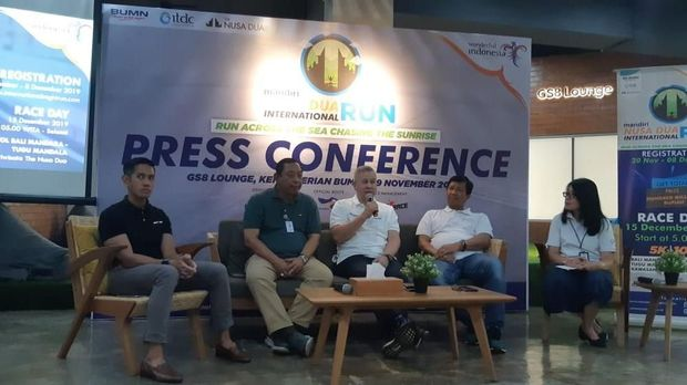 ITDC Incar Wisman Lewat Event Marathon di Nusa Dua