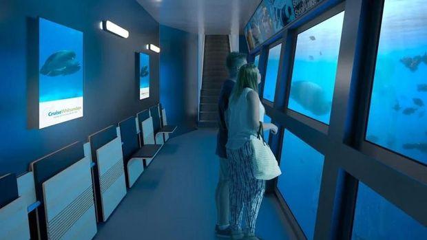 Wah, Hotel Ini Tawarkan Penginapan Underwater nan Cantik
