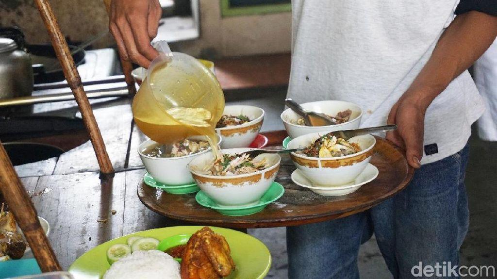 Gurihnya Soto Kwali Khas Solo Langganan Megawati di Cipayung