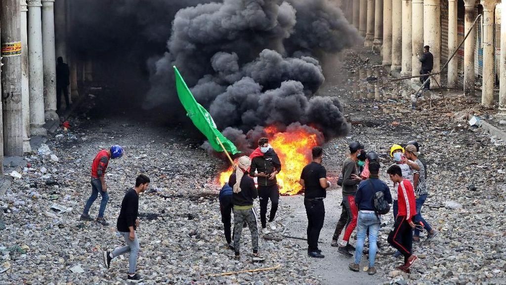 40 Demonstran Antipemerintah di Irak Tewas dalam 24 Jam Terakhir