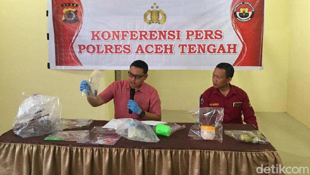 Istri Muda di Aceh Racuni Anak hingga Tewas, Bakar Mobil Suami Lalu Bunuh Diri