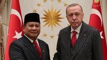 Prabowo Diterima Presiden Erdogan di Turki