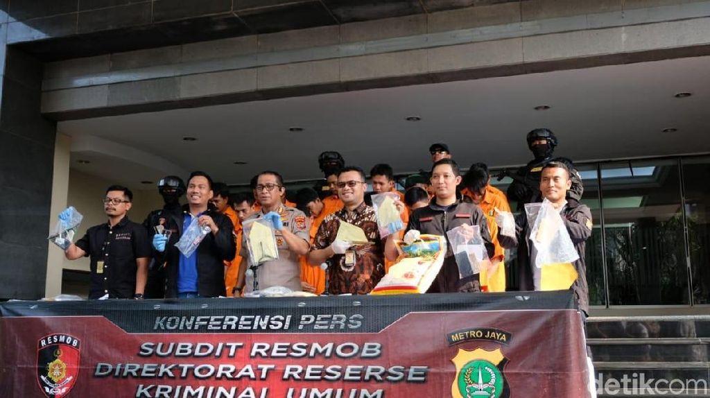 Polisi Amankan 6 Pelaku Komplotan Curanmor Jakarta-Depok
