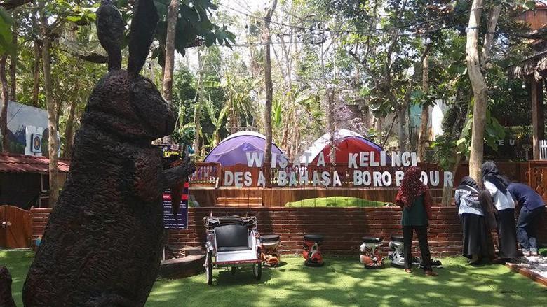 Foto: Desa Bahasa Candi Borobudur (Eko Susanto/detikcom)
