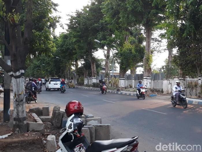 Lokasi teror alat kelamin (Foto: Muhajir Arifin)