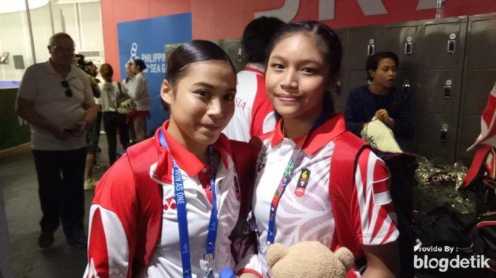Dua atlet ice skating berpeluang sumbang medali untuk Indonesia hari ini (Randy Prasatya/detikSport)