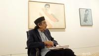 Kenangan Penulis Biografi Jeihan Sukmantoro, 2 Tahun Berdialog Intens