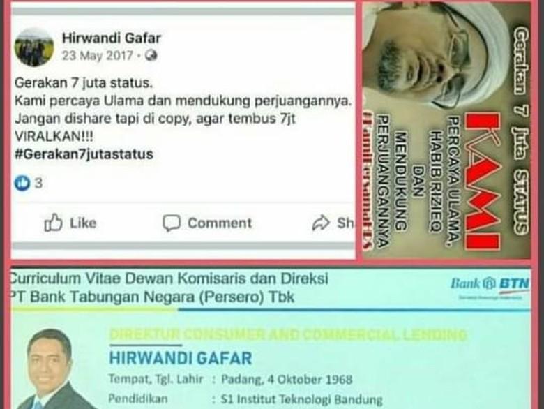 Kementerian BUMN Tepis Tuduhan Viral Direktur BTN Terpapar Radikalisme