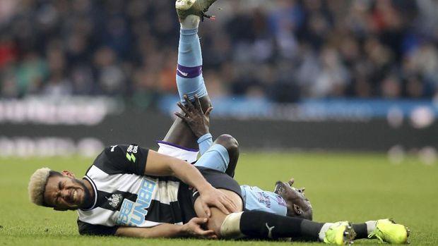 Manchester City ditahan imbang oleh Newcastle.