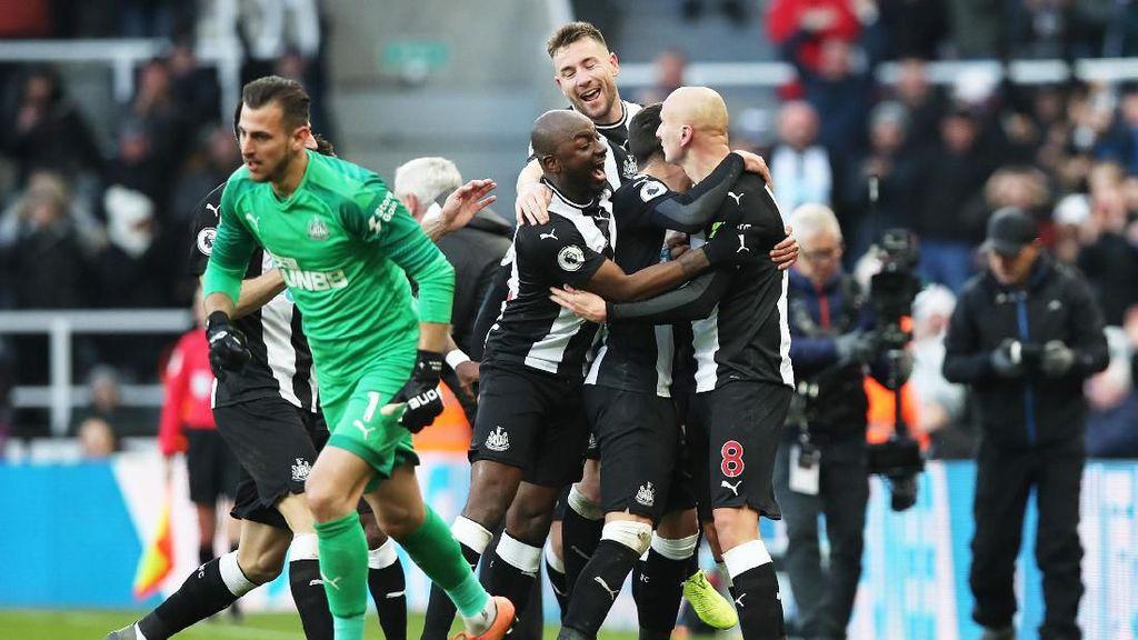 Hasil Liga Inggris: Manchester City Diimbangi Newcastle