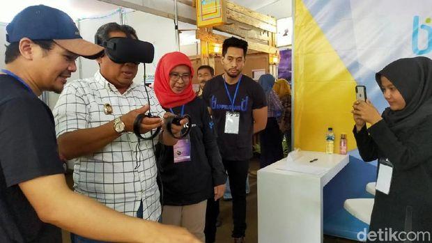 Melihat Berbagai Inovasi Teknologi di Bandung Iconic 2019