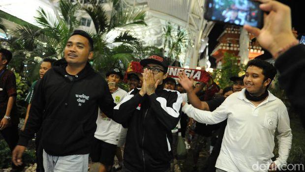 Andreas terharu begitu tiba di Bali
