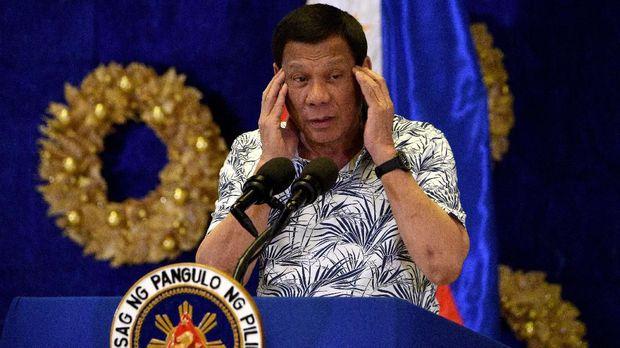 Presiden Rodrigo Duterte hendak melakukan demiliterisasi di MIndanao Selatan tahun ini.