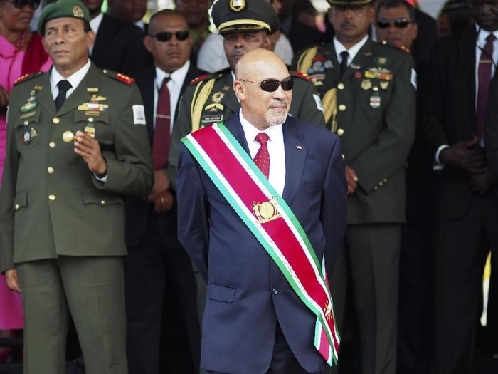 Desi Bouterse (AP Photo/Ertugrul Kilic, File)