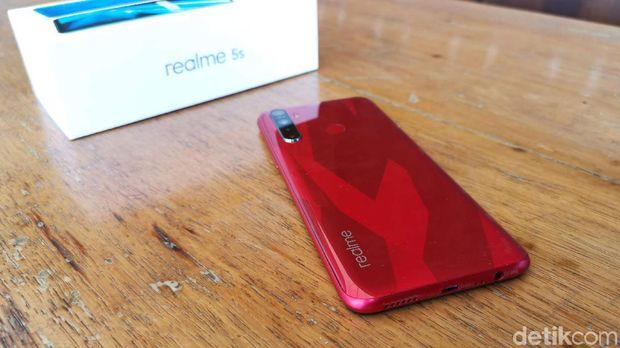 Review Singkat Realme 5s, Ponsel Rp 2 Jutaan Berkamera 48 Megapixel