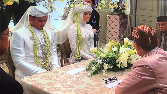 Rezky Aditya dan Citra Kirana resmi menikah. Foto: Dyah Paramita Saraswati