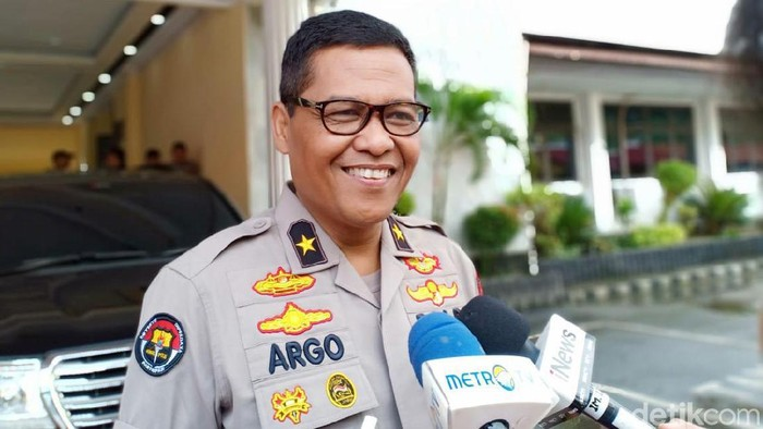Karo Penmas Divisi Humas Polri Brigjen Argo Yuwono (Samsdhuha Wildansyah/detikcom)