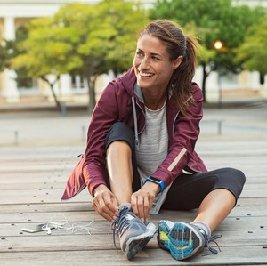 Hobi Lari, Melanie Putria Bagi Tips Pilih Waktu Olahraga saat Puasa