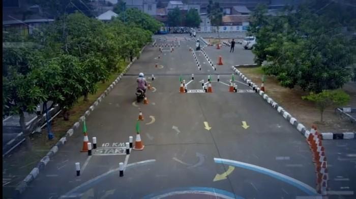 Sistem E-Drives Polda Metro Jaya (Foto: Istimewa)