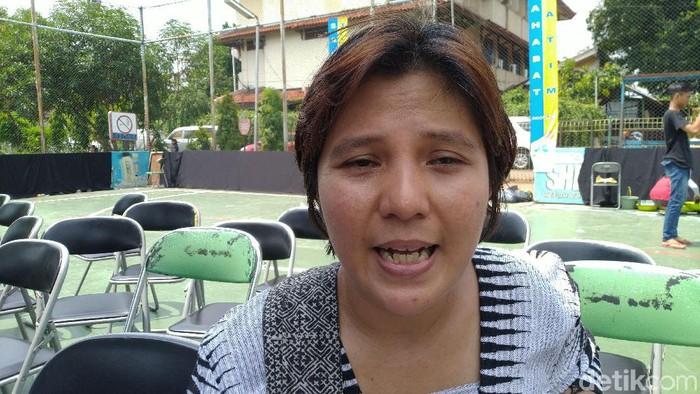 Deputi Sekretaris Jenderal Koalisi Perempuan Indonesia Sutriyatmi (Sachril Agustin Berutu/detikcom)