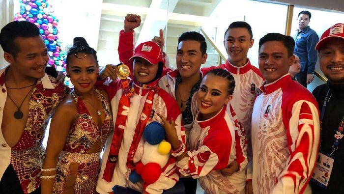 Dancesport menyumbang emas kedua bagi Indonesia di SEA Games 2019. (Foto: dok. istimewa)