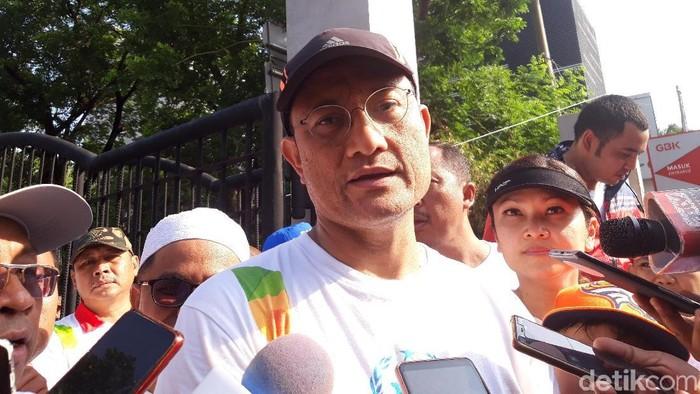 Menteri Sosial (mensos) Juliari Batubara. (Foto: Rahel Narda/detikcom)
