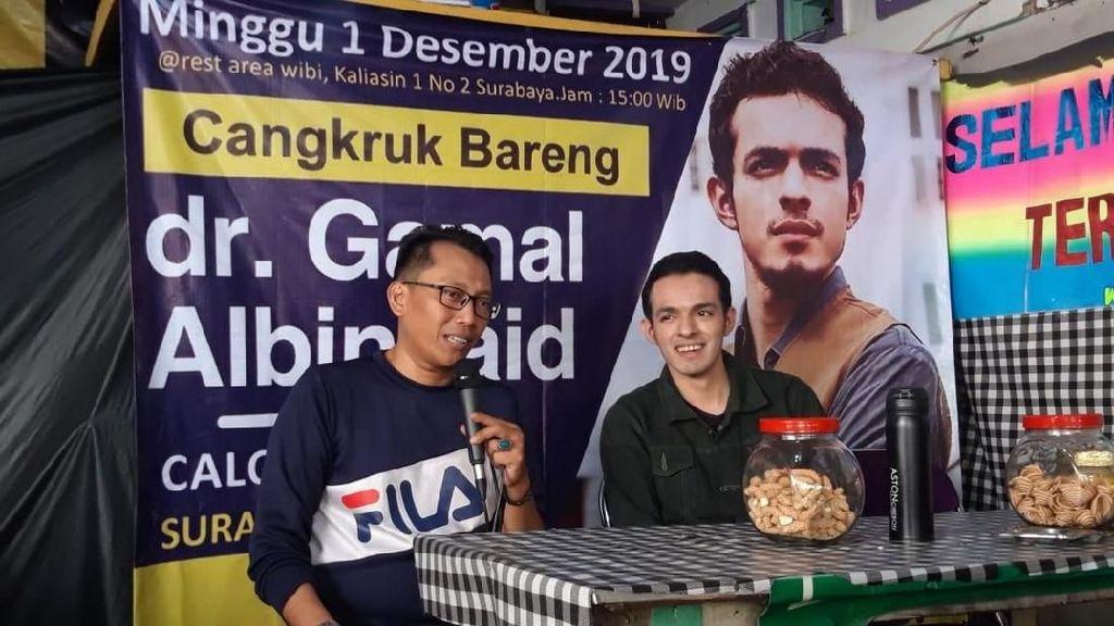 Mantan Jubir Prabowo-Sandi Gamal Albinsaid Nyalon Wali Kota Surabaya