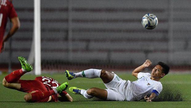 Vietnam berhasil mengalahkan Indonesia 2-1 di fase grup SEA Games 2019.