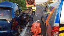 Detik-detik Avanza Tabrak Truk di Tol Cipali Tewaskan 6 Orang